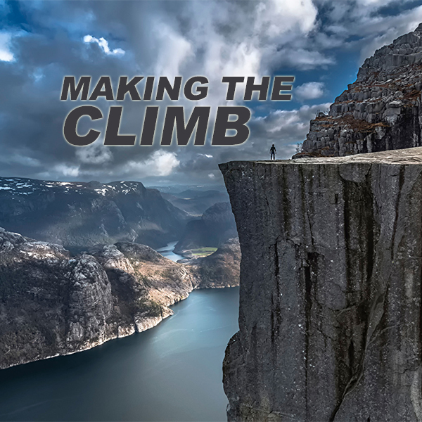making the climb album art